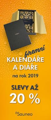 Kalendáře, diáře 2019